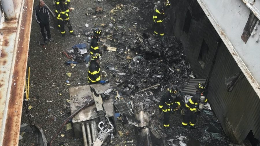 NTSB investigating Manhattan chopper crash that killed pilot