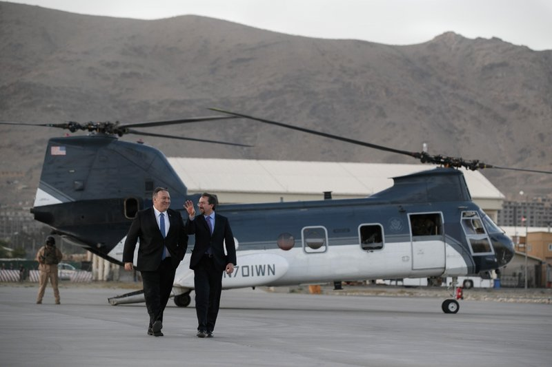 Mike Pompeo Afghanistan 1
