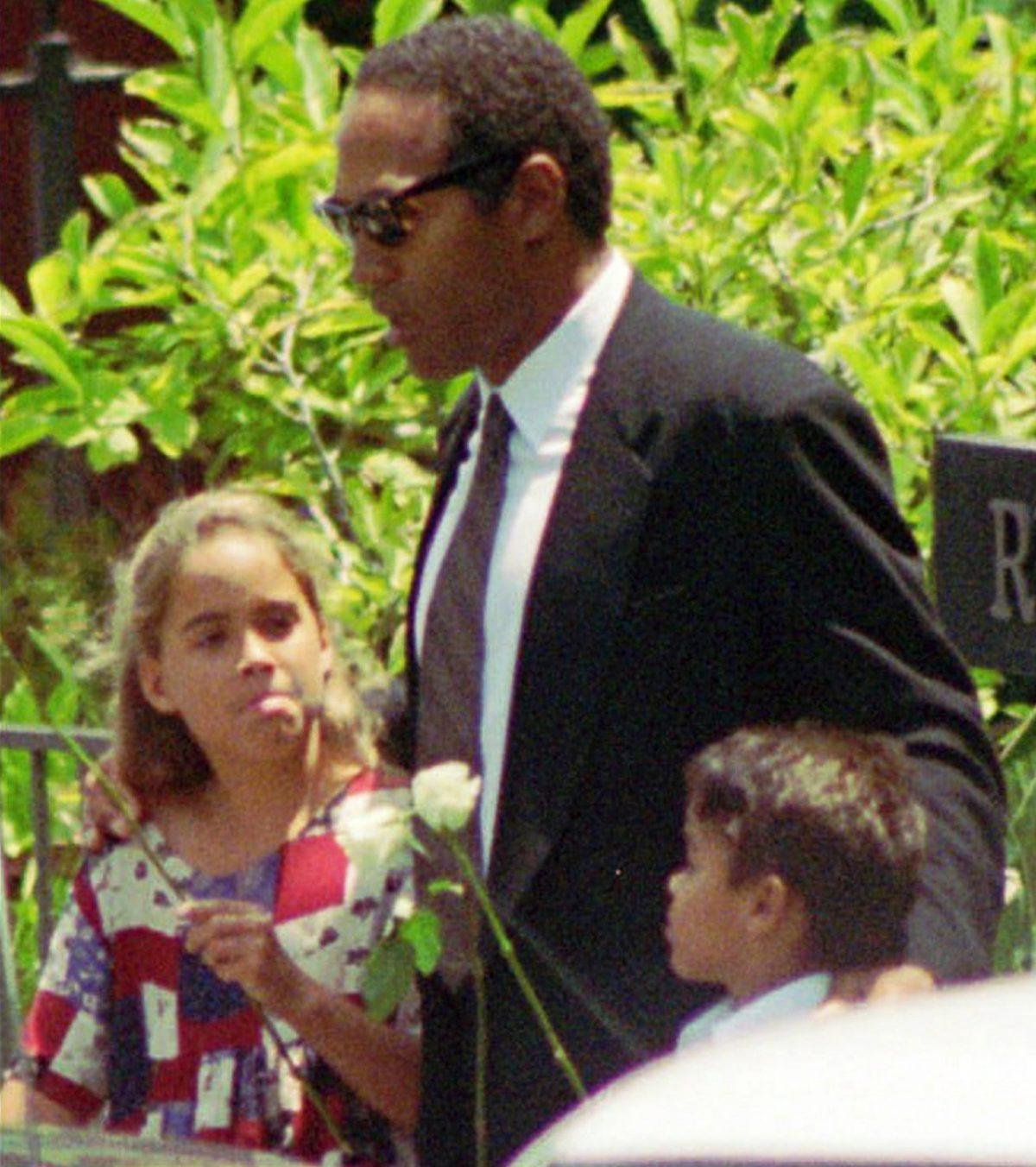OJ simpson and kids
