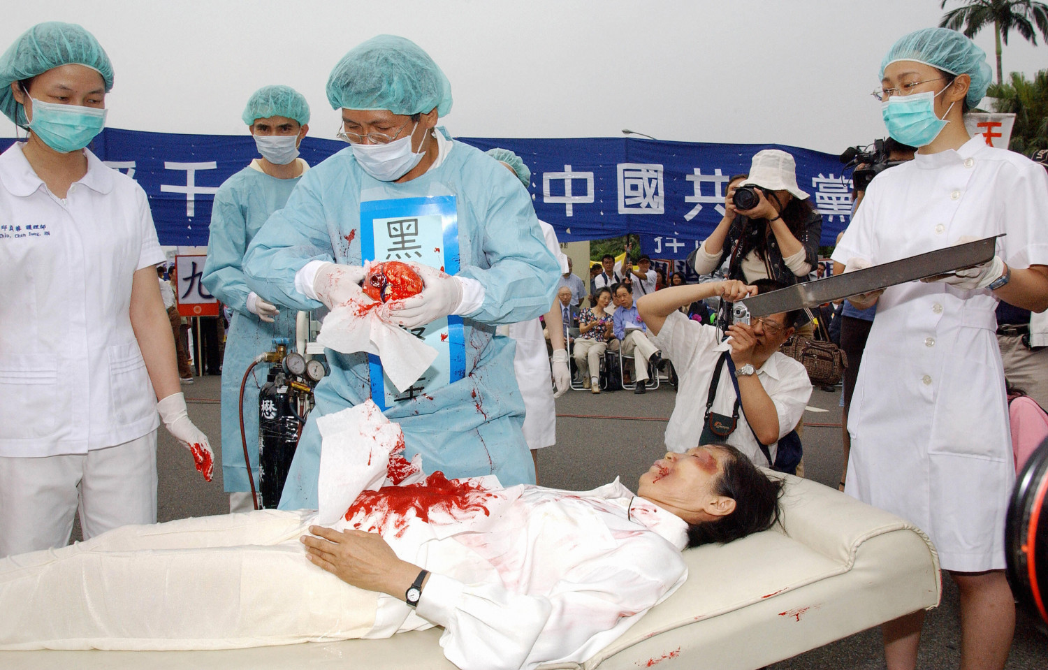 Chinese Military Doctor Admits Forced Organ Harvesting