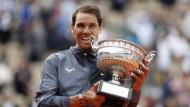 Nadal Wins 12th French Open for 18th Slam Title