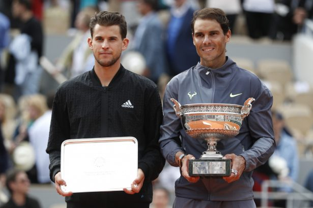 Rafael Nadal and Dominic Thiem