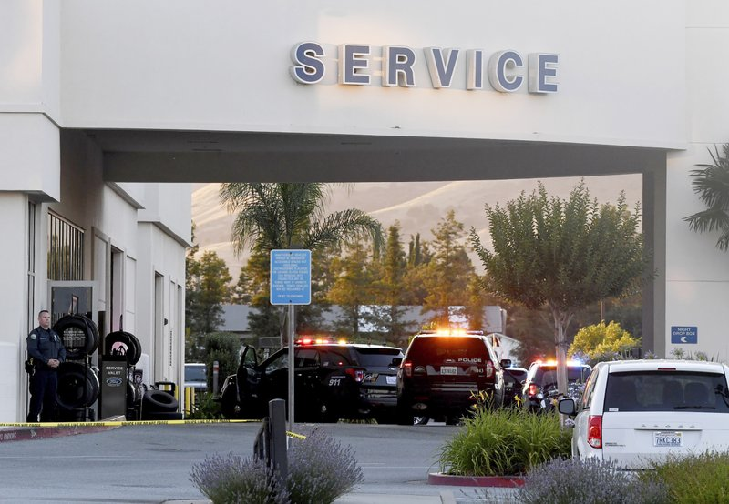 Shooting in Ford Store Morgan Hill 1