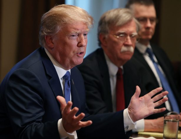 Trump Forces Out National Security Adviser John Bolton