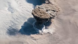 This Is What an Erupting Volcano Looks Like From Space