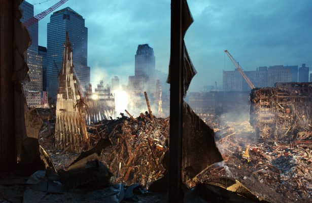 Wreckage of the World Trade Center 25