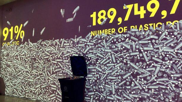 annual plastic use at museum of plastic