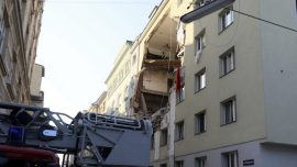 Building Explosion in Austrian Capital Leaves 12 Injured