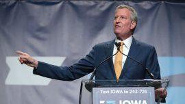 No One Chose NYC Mayor Bill de Blasio for President in Major Iowa Poll