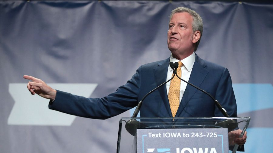 No One Chose NYC Mayor Bill de Blasio for President in Major Iowa Poll