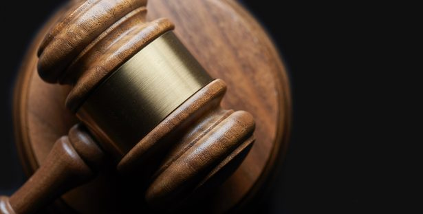 Stock photo of a gavel.