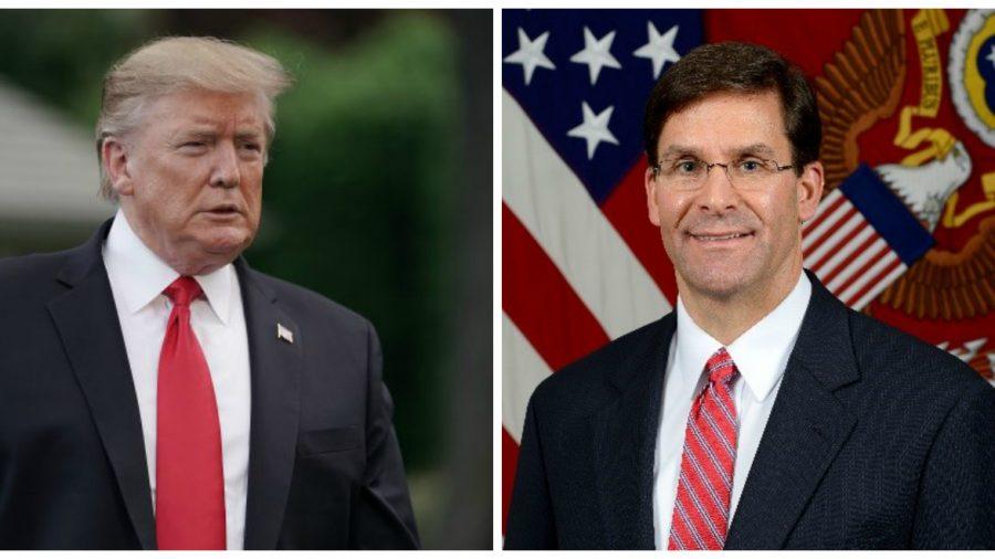 Trump to Nominate Mark Esper as Next Secretary of Defense