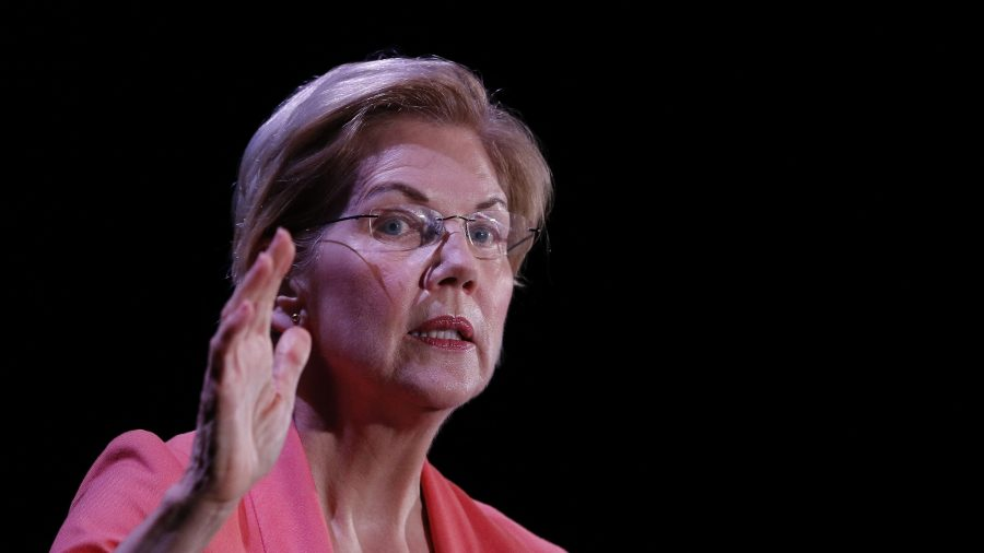 Warren Doubles Down on Plan to Curb Big Tech Companies, Despite Zuckerberg's Warning