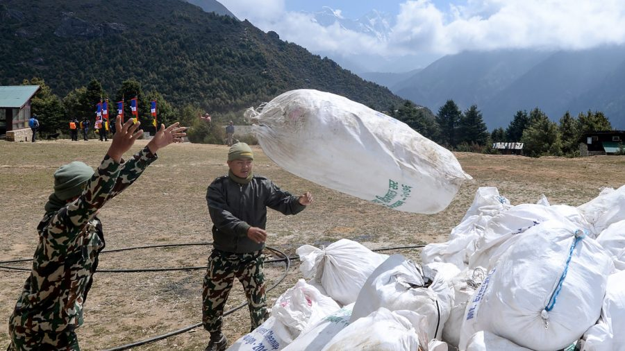 Over 24,000 Pounds of Trash Removed From Everest as Cleanup Crew Unearth Bodies