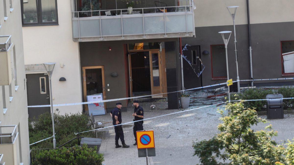 explosion in Linkoping, Sweden