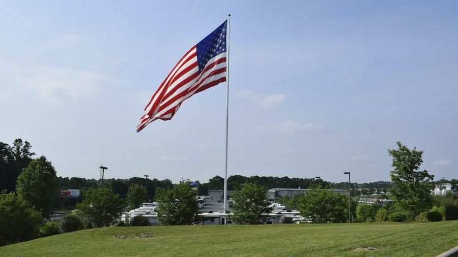 North Carolina City Says American Flag Flying Over RV Store Still Too Big