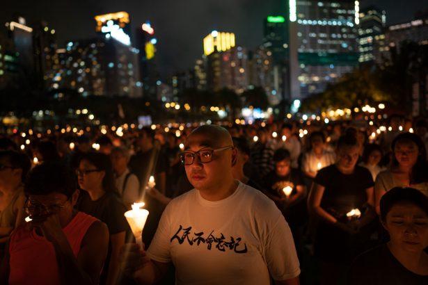 hong kong vigil