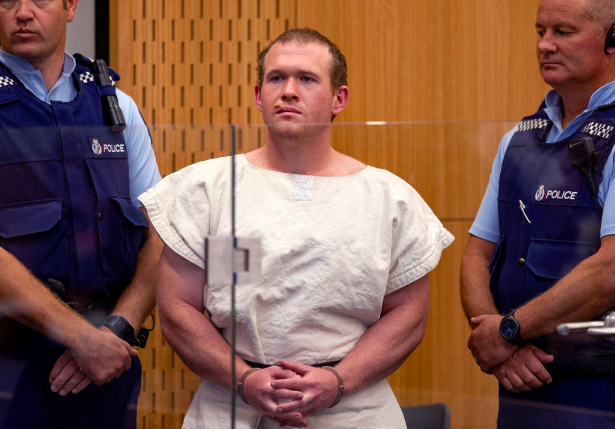 New Zealand Judge Allows Images of Man Charged in Mosque Shootings