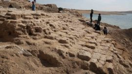 3,400-Year-Old Palace Emerges From Drought-Hit Reservoir