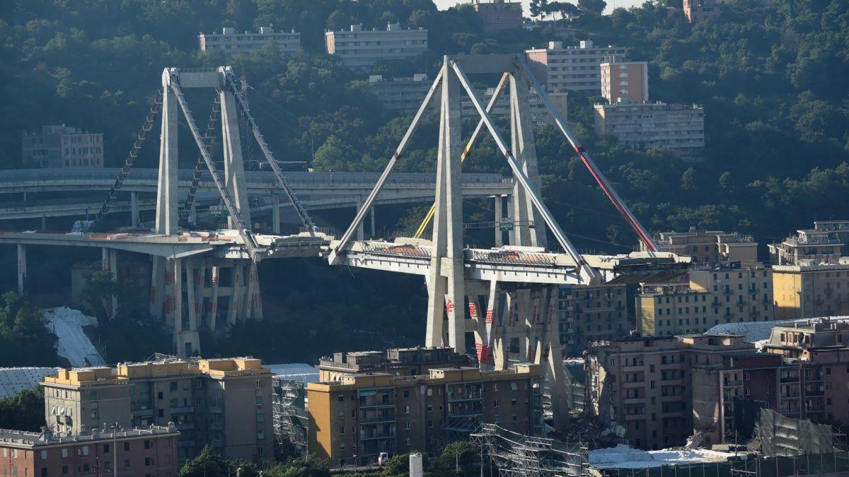 italian Bridge collapse 2