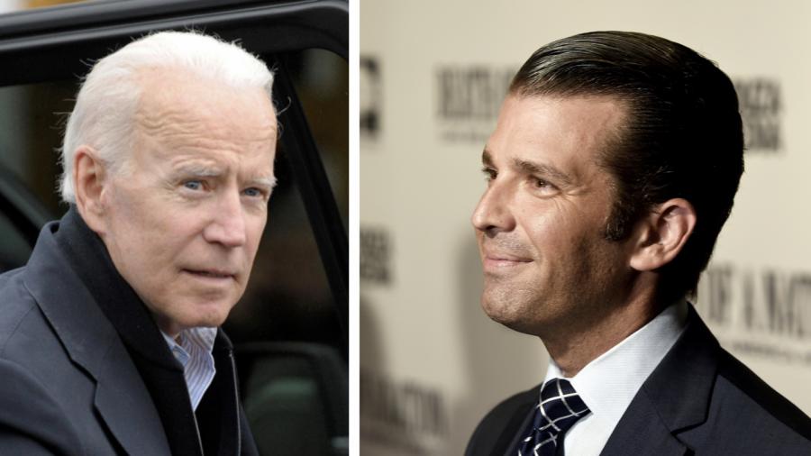 Donald Trump Jr. Says Joe Biden Had Incentive to Dismiss China Threats, Says 'Son Took $1.5 Billion' From Chinese Regime
