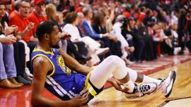 Kevin Durant Undergoes Surgery for Ruptured Achilles 2 Days After Suffering Injury