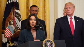 Kim Kardashian Speaks at White House, Reveals New Plan to Help Former Inmates