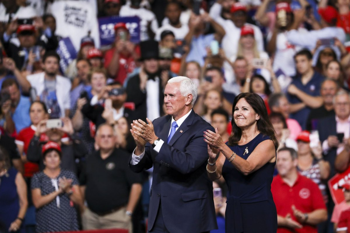 mike pence and wife 2020 orlando trump