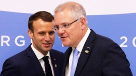 Australia Wants French Boost in Pacific