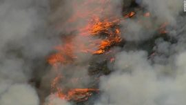Fire Consumes 6,000 Acres in Tonto National Forest in Arizona