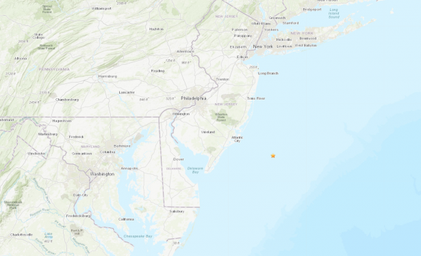 new jersey small earthquake