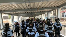 Hong Kong Police: Unsure Whether China Would Notify Them of Any Military Plans