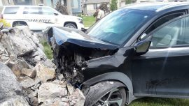 Baby Delivered Safely After Mother Blacks Out, Crashes Vehicle