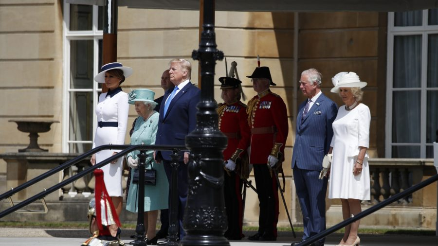 President Trump Arrives in London for State Visit