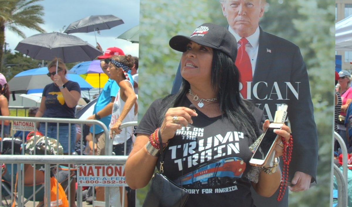 Victoria Perlaza, a real estate agent and Immigrant from Columbia told NTD that though many in her family don't talk about it, they are going to vote for Trump.
