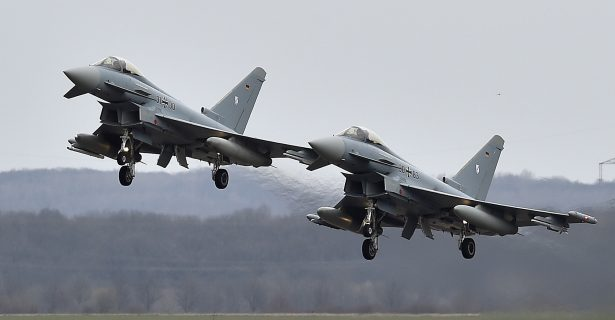 2 German Fighter Jets Collide Midair, 1 Pilot Killed, 1 Survives