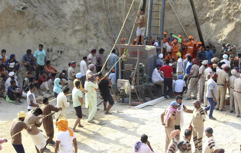 Indian Toddler Trapped in Well Dies Amid 110-Hour Rescue Try