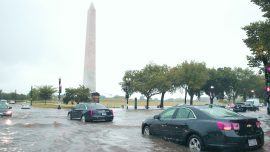 Rains Strand Washington Drivers, Flood White House Basement