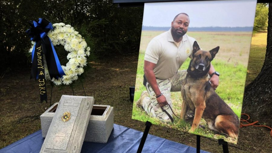 Alabama K-9 Who Died After Drug Contact Honored at Memorial