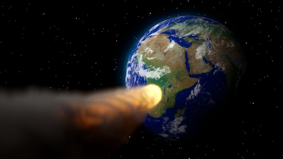An Asteroid Missed Hitting the Earth