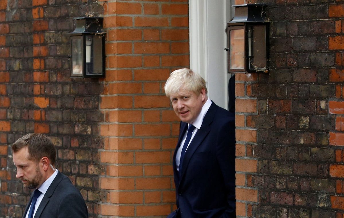 Boris Johnson leaves office