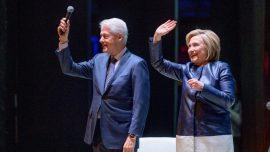 Billy Joel Concert Erupts in Boos After Singer Introduces Bill and Hillary Clinton