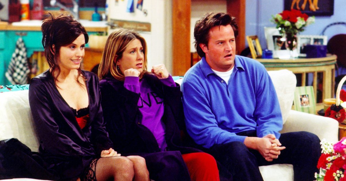 Cast from the TV show Friends