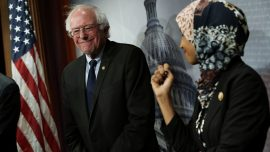 Bernie Sanders Uses 2020 Campaign To Fundraise For Ilhan Omar's Reelection