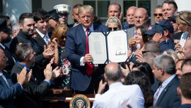 Trump Signs 9/11 Bill Extending Compensation for First Responders