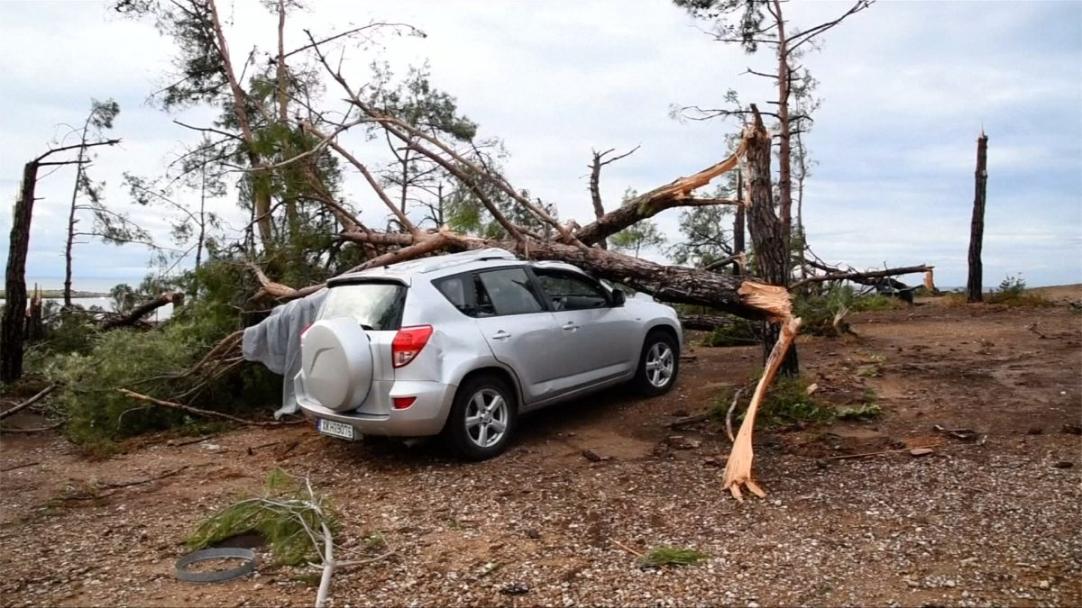 Greece severe storm 1