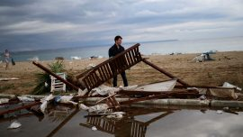 Violent Storm Kills Six Foreigners in Northern Greek Resorts