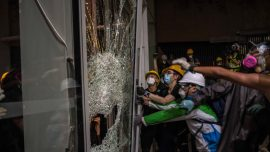 Questions Arise in Hong Kong: Did Police Allow Protesters to Storm the Legislature?