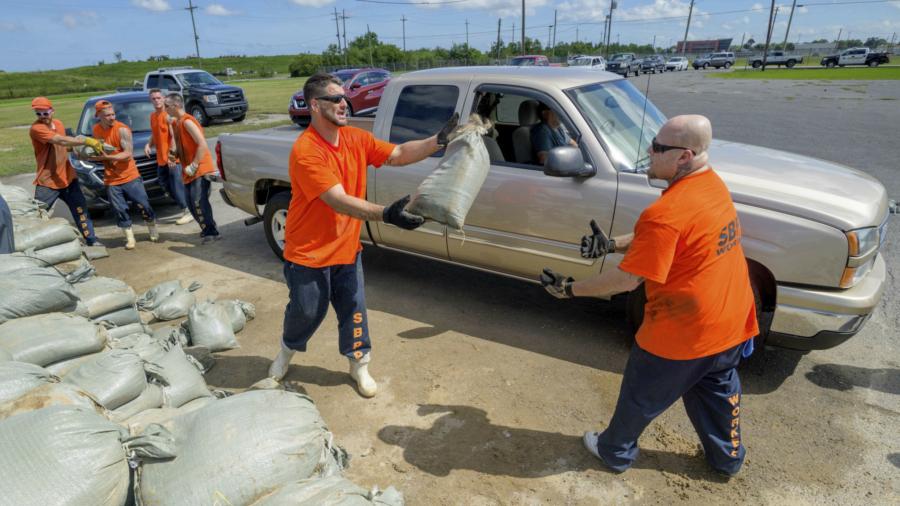 Tropical Storm Barry's Wind and Rain Hit Louisiana Coast