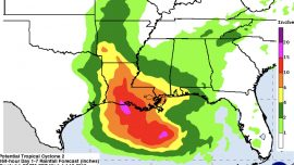 Hurricane Watches Issued for Parts of Coastal Louisiana Ahead of Storm